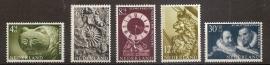 Nvph  766/770 Zomerzegels 1962 Postfris