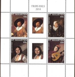 Sint Maarten 204/207 Frans Hals 2014 Postfris