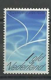 Luchtpost 16 Zegel voor Bijzondere Vluchten Postfris