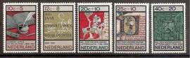Nvph  859/863 Zomerzegels 1966 Postfris