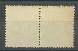 Nvph 189 21 ct Veth met watermerk Postfris in paar * Koopjeshoek *