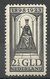 Nvph 130 2½ Gld Jubileum 1923 Ongebruikt (4)