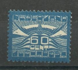 Luchtpost  3 60 ct Allegorische Voorstelling Postfris