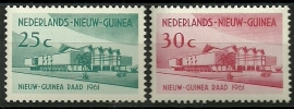 Nieuw Guinea 67/68 Nieuw-Guinea Raad Postfris