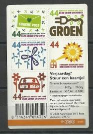 Nvph V2551/2558  Creditcardformaat (5× 0,44) Postfris