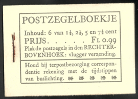 PZ 38-N 4 × 6 (Nvph 172/379/380/381) Roomkleurige Kaft ( 7)