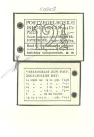 PZ 45 4 × 6 (Nvph 336) Roomkleurige Kaft + Certificaat (2)