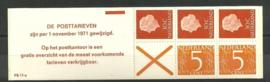 PZB 11aF Postfris + Plaatfout in text (lange k)