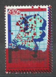 Nvph 1181 Kamer van Koophandel met rooddruk Postfris (1)