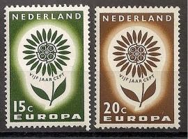 Nvph  827/828 Europa 1964 Postfris