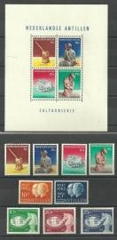 Nederlandse Antillen Jaargang 1962 Postfris