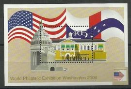 Nederlandse Antillen 1662 Blok Washington 2006 Postfris