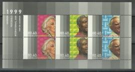 Nvph 1821 Blok Zomerzegels 1999 Postfris