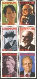 Suriname Republiek 1386/1391 Nobelprijswinnaars 2006 Postfris