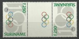 Suriname Republiek  807 TBBP A 100 Jaar Olympisch Comité 1994 Postfris