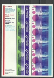 Nvph V1967 Europazegels 2001 Postfris
