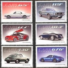 Curaçao Status Aparte 211/216 Auto's, Ford & Porsche 2014 Postfris