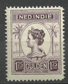 Nederlands Indië 133C 1¾ GLD Koningin Wilhelmina Postfris (3)