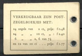 PZ 53 4 × 6 (Nvph 461) Roomkleurige Kaft (3)