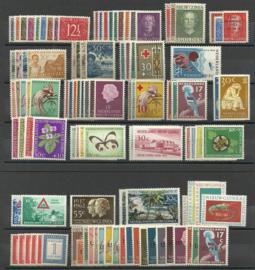 Nieuw Guinea 1/81 geheel compleet + Port & UNTEA Postfris