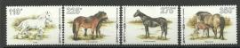 Nederlandse Antillen 1131/1134 Paarden 1996 Postfris