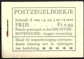 PZ 38-N 4 × 6 (Nvph 172/379/380/381) Roomkleurige Kaft ( 4)