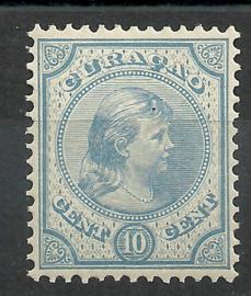 Curacao  19 10 ct Prinses Wilhelmina Postfris