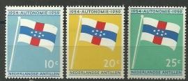 Nederlandse Antillen 304/306 Postfris
