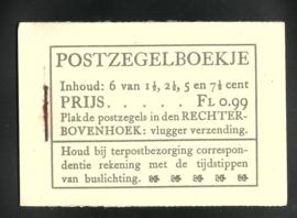 PZ 38-N 4 × 6 (Nvph 172/379/380/381) Roomkleurige Kaft (15)