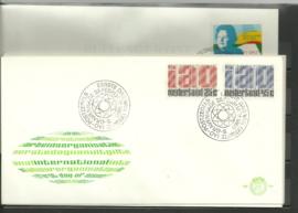 FDC Jaargang 1969 compleet onbeschreven met open klep E94/E101