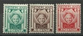 Nvph 141/143 Kinderzegels 1924 Ongebruikt