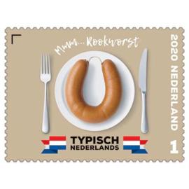 """Nvph 3822  """"Typisch Nederlands"""" - Rookworst 2020 Postfris"""