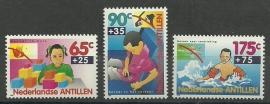 Nederlandse Antillen 1039/1041 Kinderzegels 1993 Postfris