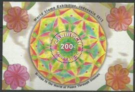 Caribisch Nederland  32 Blok Indonesia 2012 Postfris