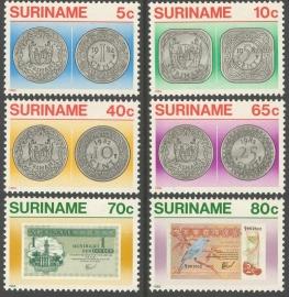 Suriname Republiek 348/353 Surinaams Geld 1983 Postfris