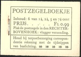 PZ 38-N 4 × 6 (Nvph 172/379/380/381) Roomkleurige Kaft (10)