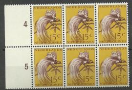 Nederlands Nieuw Guinea 28 PM in blok Postfris