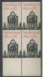 Plaatfout  989 PM1 in Blok Postfris