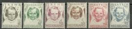 Nvph 454/459 Prinsessenzegels Postfris