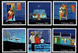 Curaçao Status Aparte 398/403  Kerstzegels 2018 Postfris