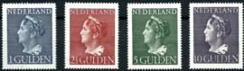 Nvph 346/349 Hoge Waarden Konijnenburg Postfris + Certificaat ( 8)