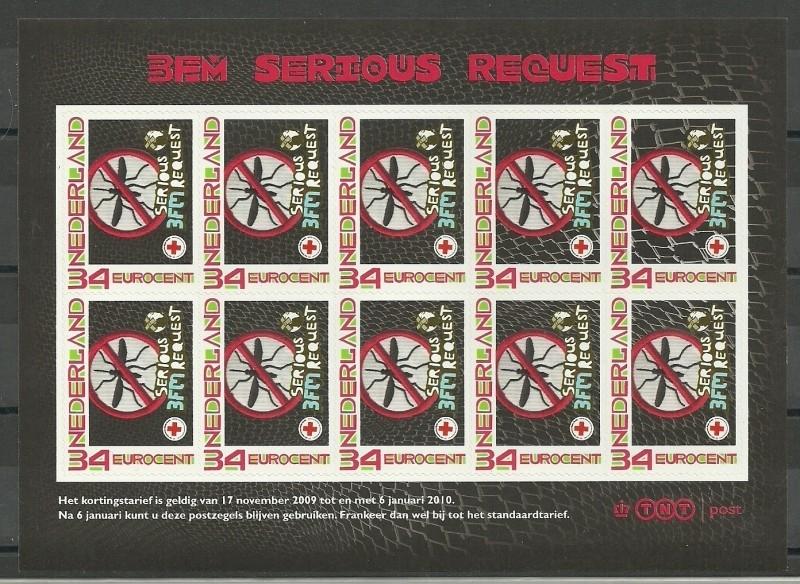 Nvph 2619a Persoonlijk Postzegelvel 3FM Serious Request Postfris (1)