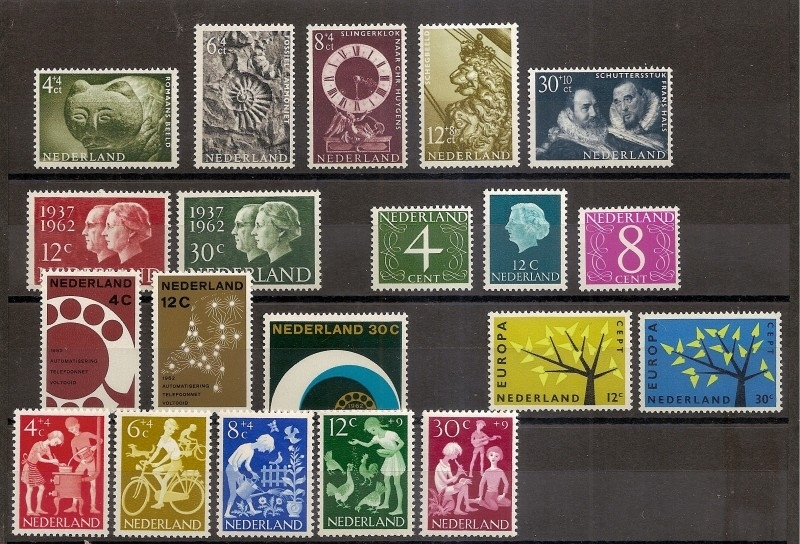 Complete Jaargang 1962 Postfris
