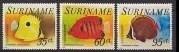 Suriname Republiek  27/31 Luchtpost Vissen 1976 Postfris