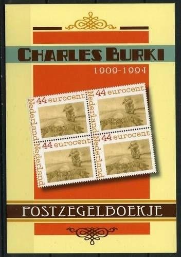 Charles Burki Postzegelboekje (2) Postfris