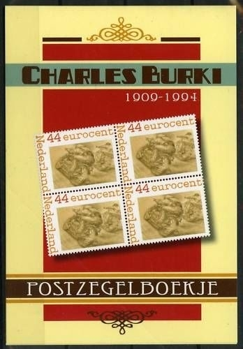 Charles Burki Postzegelboekje (3) Postfris
