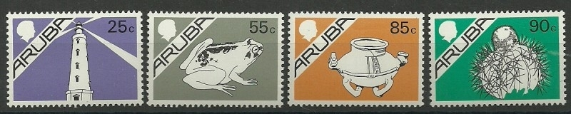 Aruba  30/33 Postfris