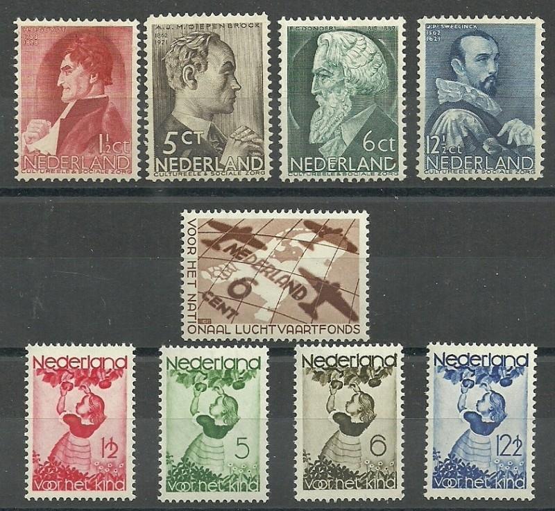Complete Jaargang 1935 Postfris