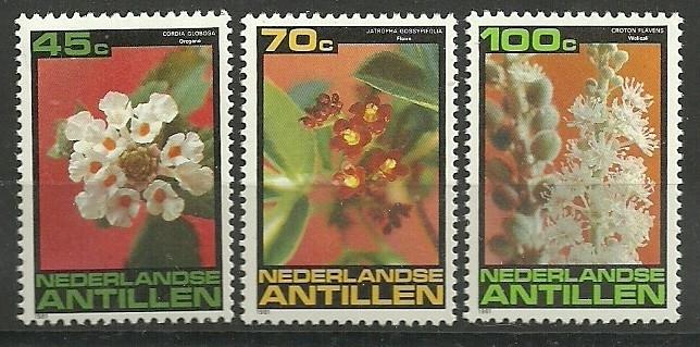 Nederlandse Antillen 700/702 Postfris