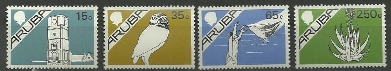 Aruba   9/12 Postfris